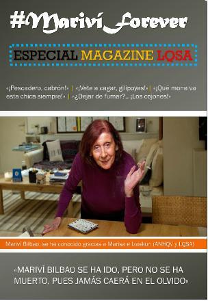 """Pulsa en la portada para leer """"Magazine LQSA"""""""